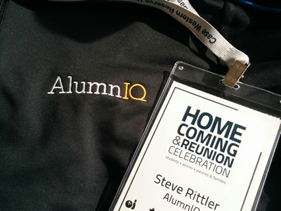 Featured nametag from Case Western Reserve Homecoming